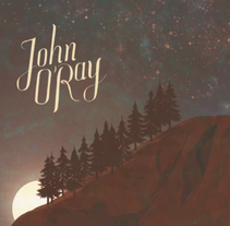 John O´Ray. A Design, Illustration, Music, Audio, Br, ing, Identit, Graphic Design, and Writing project by Pablo Pino         - 14.05.2014