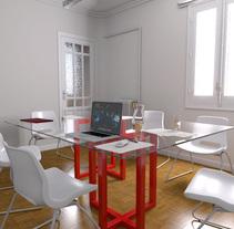Sala de Reuniones. A 3D project by Iván Nonavi         - 23.05.2014