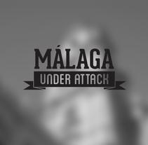 Málaga under attack. Um projeto de Design, Ilustração e Fotografia de Pelayo Rodríguez - 24-05-2012