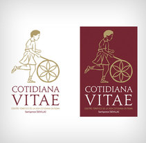 Logo Museo Cotidiana Vitae. A Br, ing, Identit, and Graphic Design project by Alejandro Sáez (TLM)         - 29.05.2011