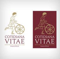 Logo Museo Cotidiana Vitae. Un proyecto de Br, ing e Identidad y Diseño gráfico de Alejandro Sáez (TLM)         - 29.05.2011