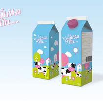 Diseño de brick de leche para niños. A Graphic Design, Packaging, and Product Design project by Ion Richard         - 25.05.2014