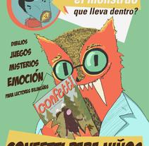 Confetti Magazine Infantil. Un proyecto de Diseño, Diseño editorial e Ilustración de Silvia González Hrdez - Sábado, 31 de mayo de 2014 00:00:00 +0200