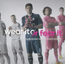 Adidas R.Madrid 2014. Un proyecto de Publicidad, Motion Graphics, 3D y Post-producción de Juan José González  - 02-06-2014