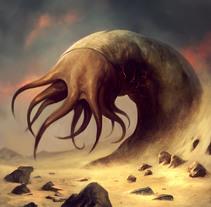 Ilustraciones Lovecraft. Un proyecto de Ilustración de Borja Pindado - Jueves, 05 de junio de 2014 00:00:00 +0200