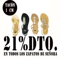 21%dto.En todos los zapatos de Señora.. Um projeto de Direção de arte, Moda e Design de calçados de Eva Sevilla         - 22.06.2014