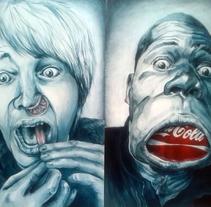 Pintura: youtube heroes. Um projeto de Artes plásticas de Marta Zubieta         - 25.06.2014