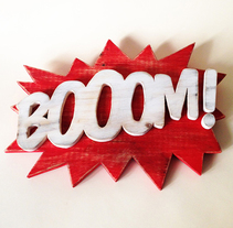 Bo0OM!. A Crafts, Product Design, T, and pograph project by David Sánchez - 06.30.2014