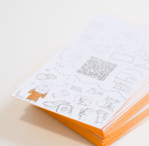 Tarjeta de visita personal. Un proyecto de Diseño, Ilustración, Br, ing e Identidad y Diseño gráfico de Julie Guarnes - 30-06-2014