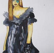 Fashion Illustration. A Costume Design, and Fine Art project by Najeda Cerdà Larrañaga         - 02.07.2014