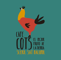 Café COTS. A Illustration, Br, ing, Identit, and Graphic Design project by carmen esperón         - 03.07.2014