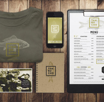 Tambucho Seafood & Oyster House. A Br, ing, Identit, Art Direction, Graphic Design, Web Design, and Photograph project by le  dezign - Jul 10 2014 12:00 AM