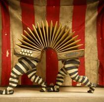 """Palíndromos"" Diorama. A Illustration project by Óscar  Sanmartín Vargas - 20-07-2014"