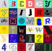 36 Days Of Type. Un proyecto de Ilustración, Diseño gráfico y Tipografía de Noem9 Studio         - 22.07.2014