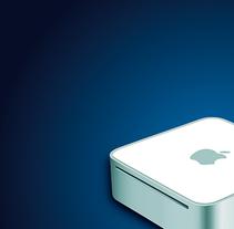 Mac Mini. Un proyecto de Ilustración y Diseño gráfico de Óscar Treviño - 26-07-2014