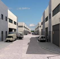 Desarrollo poligono industrial. . Um projeto de 3D de monica perez         - 14.06.2010