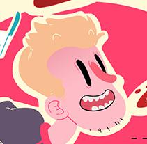 Burger time!. Un proyecto de Ilustración de Lourdes Navarro - 03-08-2014