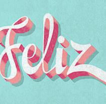 letras. Um projeto de Design e Ilustração de Zen Castilla         - 06.08.2014