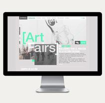 Art Fairs. Un proyecto de Arquitectura de la información, Diseño Web y UI / UX de Iñaki de la Peña - Lunes, 07 de octubre de 2013 00:00:00 +0200