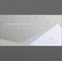 RMDS Hoteldevelopment GmbH – tarjeta de navidad. A Br, ing&Identit project by Katrin Horstkemper         - 09.12.2010