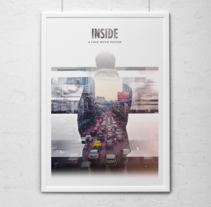 Inside - A fake movie poster. A Design, Photograph, and Art Direction project by Kike Escalante - 10-08-2014