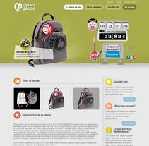 Marketplease. A Web Design project by Oriol Ris Juarez         - 11.08.2010