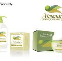 Ejemplo de packaging - Almenara. A Packaging project by Belen Sambucety         - 11.08.2014