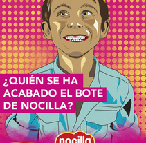 Ilustra Nocilla anuncio. Um projeto de Ilustração de Fran Avila Rubio         - 16.08.2014