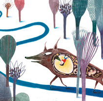 Pulgarcito(Children's Illustration). A Illustration project by Paloma Corral - 18-08-2014