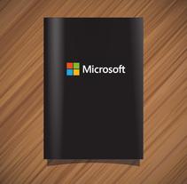 Microsoft. Un proyecto de Diseño editorial y Diseño gráfico de Claudia Aguado Vaquero         - 23.08.2014