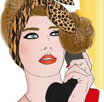 Ilustraciones del streetstyle, catwalk, y magazine. A Design, Illustration, and Fashion project by Rosa Brualla         - 24.08.2014