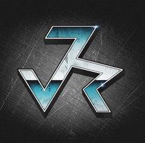 logotipo JVR. Um projeto de Br e ing e Identidade de David Ramos García - 21-06-2012