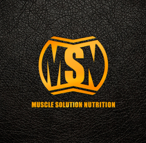 Branding Muscle Solution Nutrition. A Br, ing&Identit project by Mokaps          - 26.07.2014