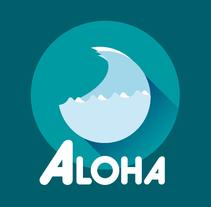© Aloha Surf App. Um projeto de Design, UI / UX, Direção de arte e Design interativo de Danann         - 27.08.2014