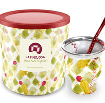 #pattern para packaging yerba mate orgánico.. A Design project by LÜ Portillo - Sep 08 2014 12:00 AM