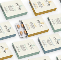 Lucid Vitamins. A Packaging project by Mara Rodríguez Rodríguez         - 07.09.2014