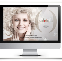 Salonia brand identity and web development. A Advertising, Art Direction, Br, ing, Identit, Web Design, and Web Development project by Andrea Pettirossi         - 08.09.2014