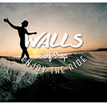 Walls Surf Shop. A Br, ing, Identit, Graphic Design, and Product Design project by TheTrendingMarket - 09-09-2014