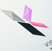 BRAND - VIDEOGAME COMPANY - KYBELE. Um projeto de Ilustração, Motion Graphics, 3D, Animação e Design gráfico de ERBA         - 17.09.2014