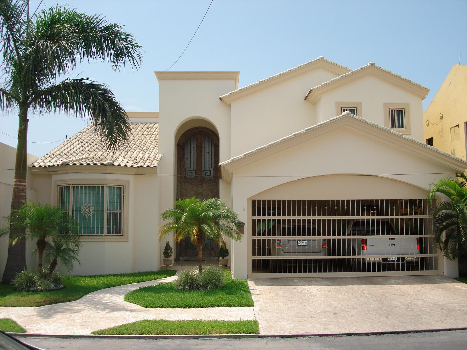 Casas en chihuahua domestika - Decoracion de entradas de casas ...