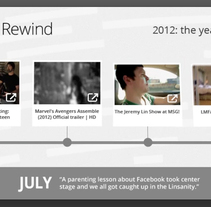 YouTube Rewind 2012. A Design, Motion Graphics, Br, ing&Identit project by Benet Carrasco Llinares         - 09.01.2013