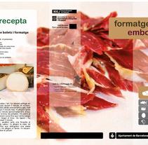 Trípticos mercados de Barcelona. Um projeto de Design de Adrian Dominguez Hernandez         - 14.03.2011