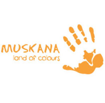 Disseny - ONG Muskana, land of colours. Um projeto de Ilustração, Publicidade, Design gráfico e Web design de Marte         - 09.06.2013