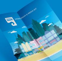Refresh Miami · Media Kit. Un proyecto de Diseño e Ilustración de Luciano Matías Menéndez         - 22.09.2014