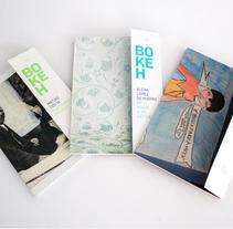 BOKEH - Colección de libros de autor. Um projeto de Fotografia e Design editorial de Pivot :: Dirección de arte   School         - 24.09.2013