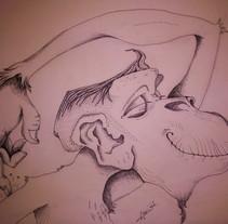 Ay! que gustito!. Um projeto de Ilustração de Abel Belmonte LLedó         - 24.09.2014