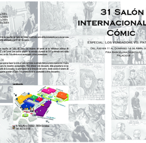 Díptico 31º Salón Internacional del Cómic. A Illustration project by Aida Ayan Garcia         - 29.09.2014