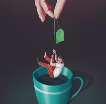 Infusión. Un proyecto de Diseño e Ilustración de Pedro García Castañeda         - 03.10.2014