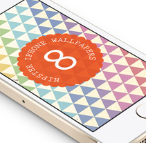 8 Hipster iPhone Wallpapers. A Graphic Design project by Jaume Estruch Navas - 28-04-2014