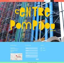 Centre Pompidou (curso ASEDEM). A Multimedia, Web Design, and Web Development project by Carme Carrillo Cubero         - 19.06.2014